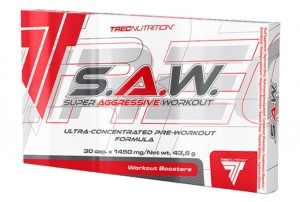 TREC SAW 30 kaps S.A.W. super aggressive workout
