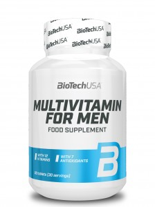 BioTech USA Multivitamin for Men 60 tabl