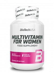 BioTech USA Multivitamin for Women 60 tabl