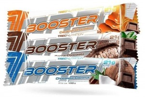TREC BOOSTER BAR 100g baton