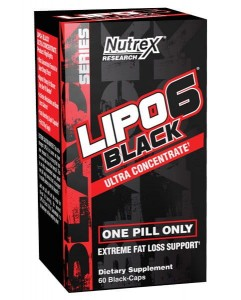 Nutrex Lipo-6 Black Ultra Concentrate 60 kaps
