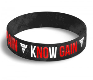 TREC OPASKA SILIKONOWA 048 KNOW PAIN KNOW GAIN