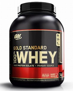 OPTIMUM 100% ON WHEY GOLD STANDARD 2270g truskawka